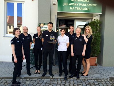 Restaurant Jihlavsky Parlament na Terasach (Jihlava Parliament on the Terraces) - team of staff