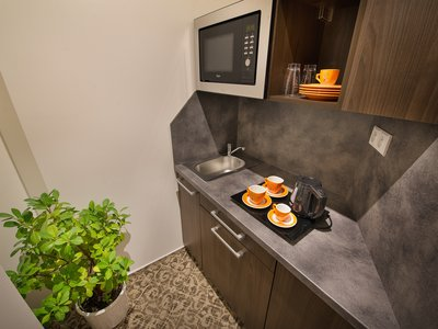 EA Business Hotel Jihlava**** - suite, kitchen