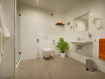 EA Business Hotel Jihlava**** - bathroom in a suite