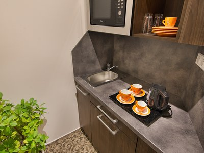 EA Business Hotel Jihlava**** - suite, kitchenette